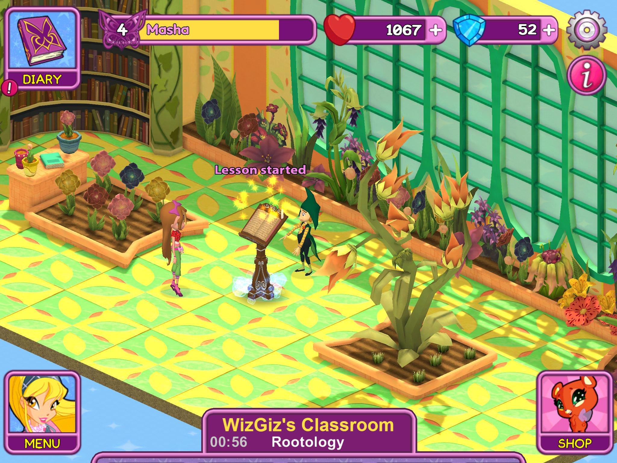 Winx Club Unveils New Fairy School Game | Animation