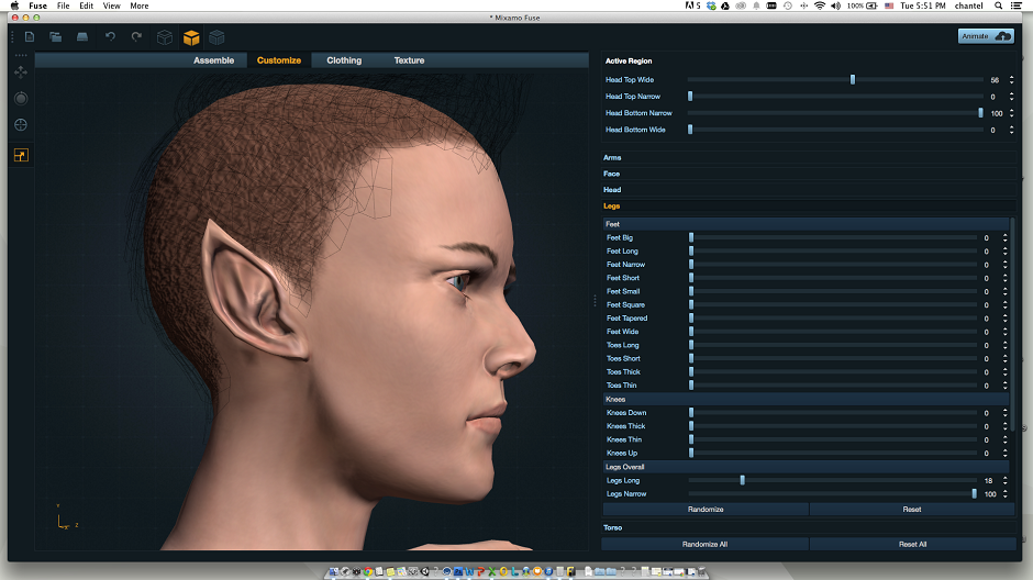 Character Design Software Free Download : Mixamo brings advanced character customization to fuse