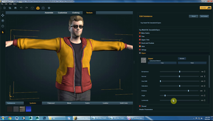 3d Character Design Software Free Download : Mixamo fuse adds support for kinect windows v