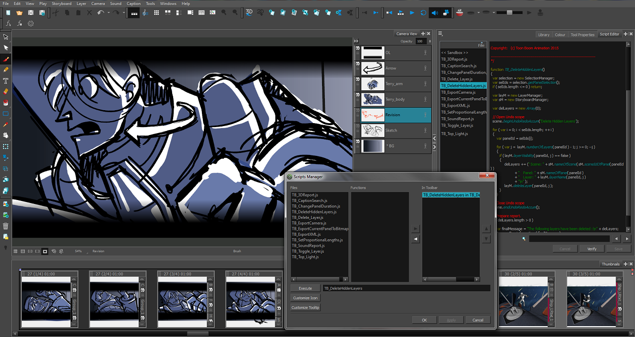Toon Boom Animation Releases Storyboard Pro 5 Animation
