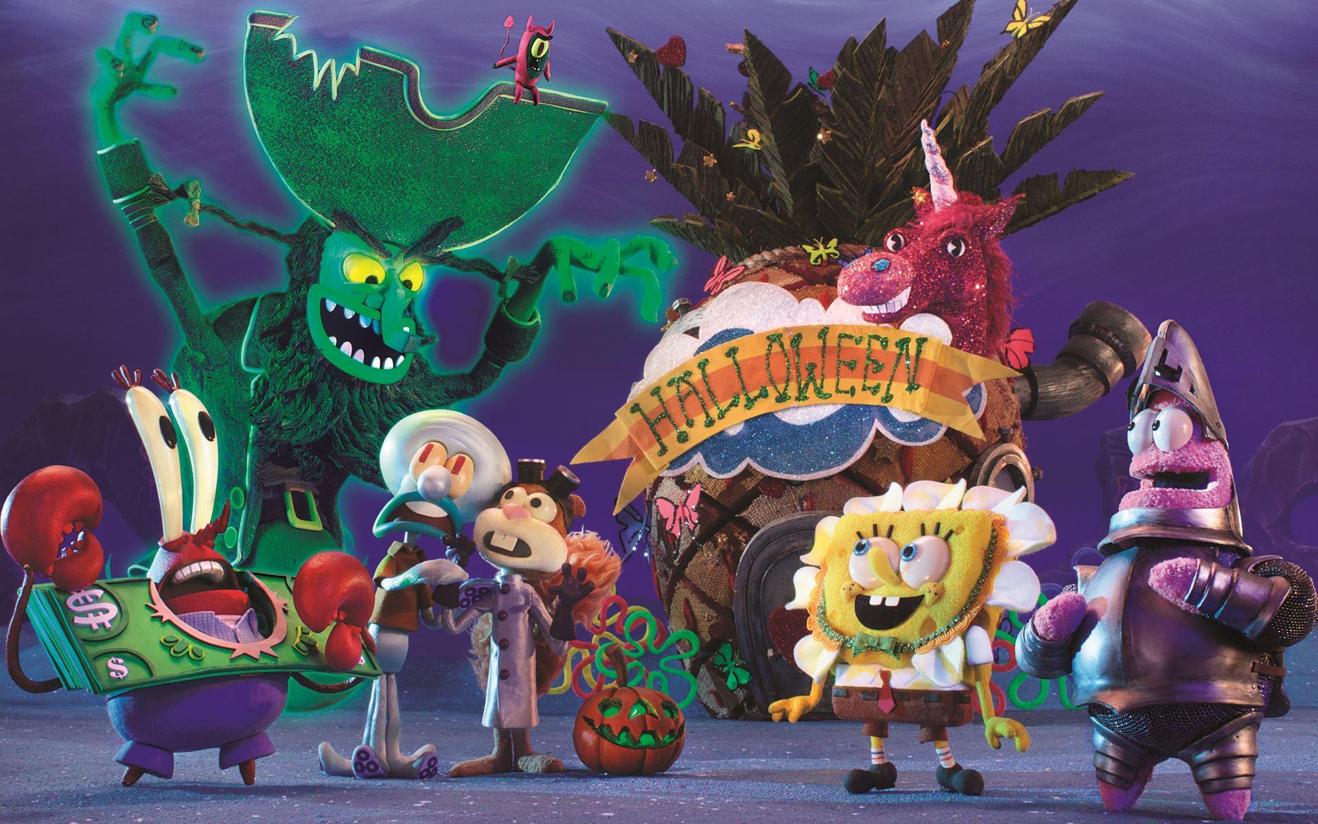 screen novelties delivers spooky thrills and chills for u0027spongebob