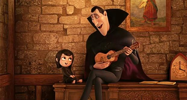screen Hotel Transylvania 2