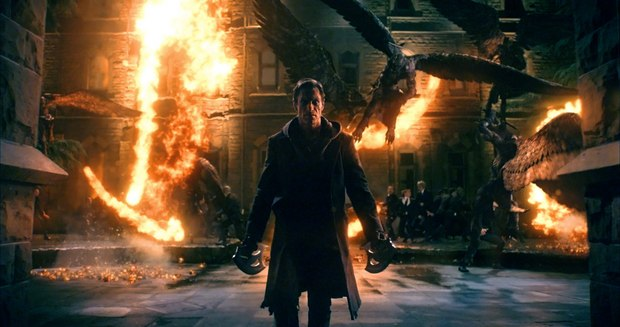 <strong><em>I, Frankenstein</em></strong>. Image courtesy of Lakeshore Entertainment and Lionsgate.