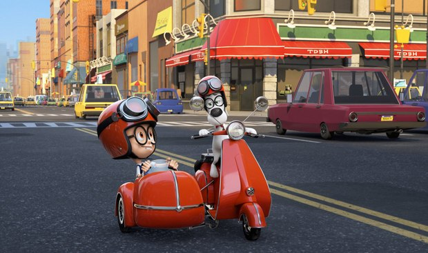 'Mr. Peabody & Sherman'. Image © 2013 DreamWorks Animation LLC. All Rights Reserved.
