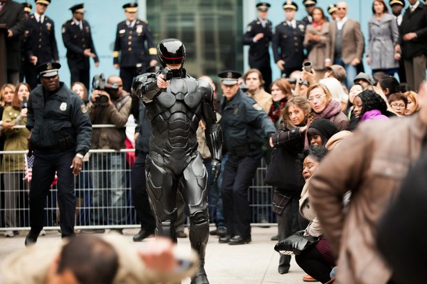 <strong><em>RoboCop</em></strong>. Image © 2012 Columbia Pictures Industries, Inc. All Rights Reserved.