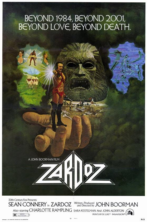 Sean Connery in the infamous flop known as Zardoz.