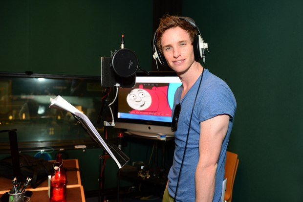 Oscar winner Eddie Redmayne lends voice to new 'Thomas & Friends' feature.
