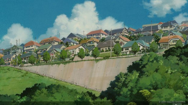 Look Background Art From Studio Ghibli S Spirited Away