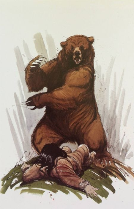 Frère des Ours [Walt Disney - 2003] - Page 4 1026272-brother-bear-bear-attack-concept-art-1200