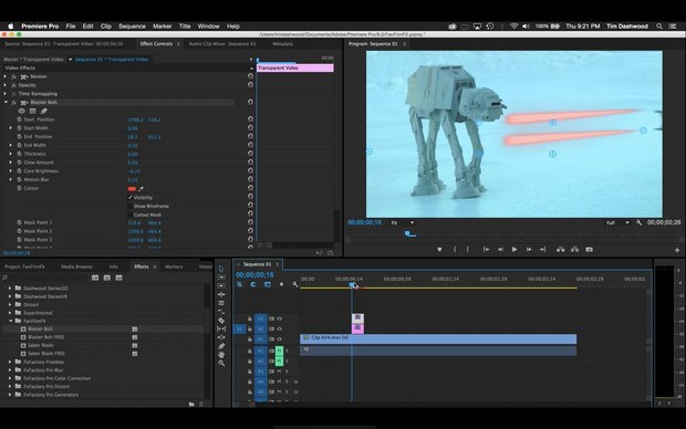 Star Wars'-Inspired Visual Effects Plugins Now Available