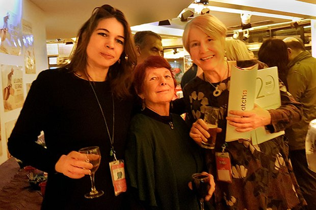 Dominique Seutin, head of Public Relations and Sponsoring, Nancy and Festival Director Doris Clevin