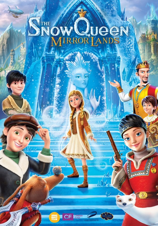 Watch Trailer And New Poster For The Snow Queen