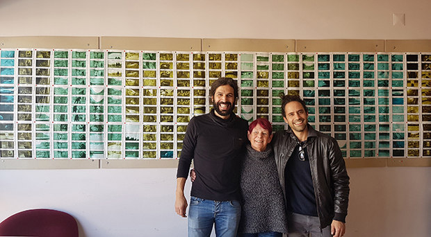 L to R -  Vasco Sa and David Doutel at their studio in Porto
