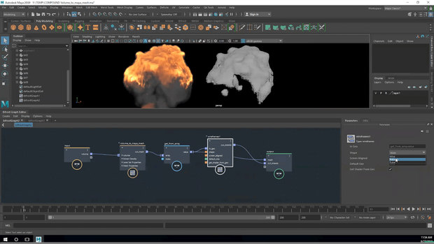 Autodesk Releases Bifrost for Maya at SIGGRAPH 2019