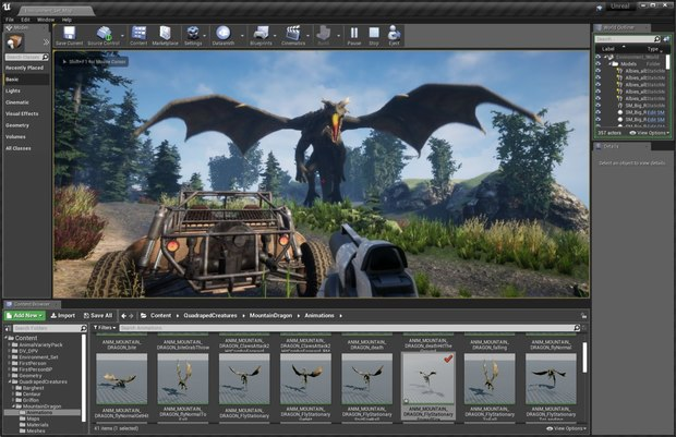 Alienbrain 2019 With Unreal Editor Integration Now Available