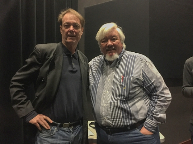 Bill Plympton with Tom Sito