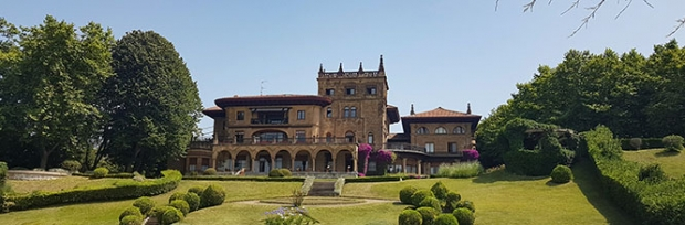 One of Getxo's many mansions
