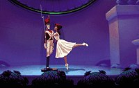 New technology and creative thinking bring a ballerina and soldier to life.© Disney Enterprises Inc.