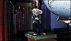 Stuart makes up for what he lacks in stature with a can-do spirit and style. © Columbia Pictures.