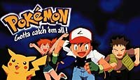 Left to right: Pikachu, Misty, Ash Ketchum and Brock of Pokémon. Photo © 2000 Warner Bros. All rights reserved.