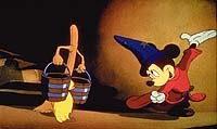 At one time Fantasia 2000 was planned to include three segments from the original Fantasia; but only
