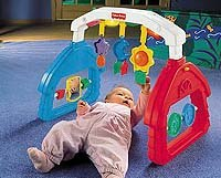 Fisher-Price's Musical Lights 'n Sounds Gym.