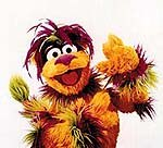 Tingo, created by Jim Henson Productions for Sesame English, a new CTW initiative with publisher Berlitz. © CTW. Sesame Street Muppets © Henson.
