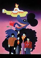 Designer Heinz Edelmann provided Yellow Submarine with a unique look. All images distributed by and © MGM Home Entertainment, Inc.