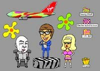 The Interactive Austin Powers. Courtesy of togglethis.
