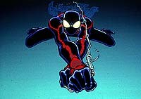 Spider-Man Unlimited. © 1999 Fox Kids. TM & © 1999 Marvel Characters Inc. All Rights Reserved.