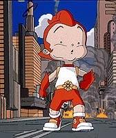 Big Guy & Rusty the Boy Robot. TM & © 1999 Adelaide Productions, Inc.