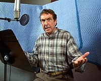 Eric Idle, David Hyde Pierce and Bobcat Goldthwait are three of the 160+ voice actors on Disney's Hercules TV series. Courtesy Walt Disney Company.