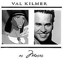 Kilmer's grand voice as Moses brought an epic feel to The Prince of Egypt and is a good example of wise casting. © DreamWorks LLC. All rights reserved.