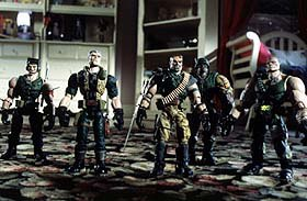 Small Soldiers. © 1998 DreamWorks LLC and Universal Pictures. Photo: Bruce Talmon.