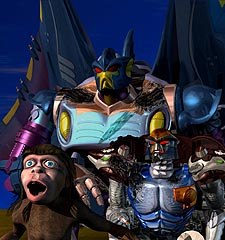 Mainframe's Beast Wars is produced in Canada as well as using Canadian-made software. © Mainframe Entertainment.