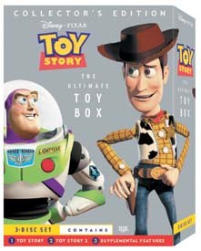 This special Toy Story DVD set offers loads of extras. © Disney Enterprises, Inc. All rights reserved.