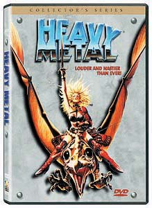 You are privvy to the rough cut version of Heavy Metal on this DVD. © 1999 layout and design Columbia TriStar Home Video. All rights reserved.