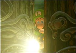 A shot from the habit forming Luigi's Mansion. © 2001 Nintendo of America.
