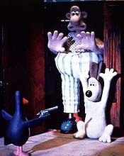 The Wrong Trousers helped establish Aardman Animations as a major player on the world animation scene. © Aardman/Wallace & Gromit Ltd. 1993.