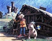 Peter Lord's Wat's Pig helped garner Aardman another Oscar nomination. © Aardman Animations.