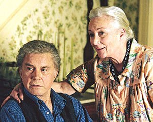Good makeup? Good casting? Uncle Ben (Cliff Robertson) and Aunt May (Rosemary Harris) look exactly like Steve Ditkos original comic book art portraits.