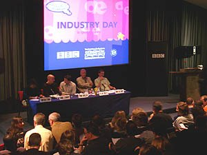 Industry Day introduced professionals to animation students.