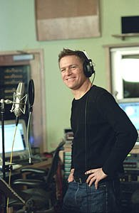 While no longer the narrator, singer/songwriter Bryan Adams is definitely the voice of Spirit through the soundtrack.