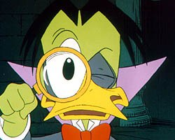 Duckula, a co-production with Nickelodeon, has been seen on American television. Like many, Cosgrove Hall is looking to sell more of its shows to the States. © FreMantle Media.