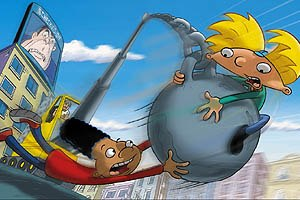 Nickelodeon's Hey Arnold! series hit the big screen with disappointing results...but how disappointing will it be in the long run really? © 2001 Paramount Pictures and Viacom International.