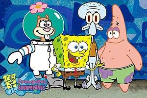 Bikini Bottom is going Hollywood! Nickelodeon's SpongeBob SquarePants is bringing more nautical nonsense to theatres soon. © Nickelodeon.