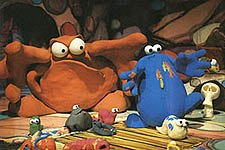 Box's first job was on The Trapdoor. © CMTB Animation.
