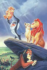 In the eye of the beholder: One group felt The Lion King represented voodooism and paganism; another group saw sex in the sands. © The Walt Disney Company.