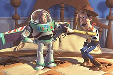 Toy Story was the object of a boycott hoax and false allegations of sexual and drug references. © Disney Enterprises, Inc.