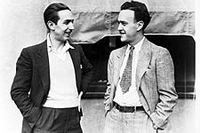 Walt (left) and Ub Iwerks, circa 1932. © Disney Enterprises, Inc.